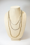 Tri Strand Necklace